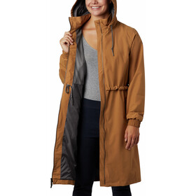 Columbia Firwood Long Jacket Women light elk